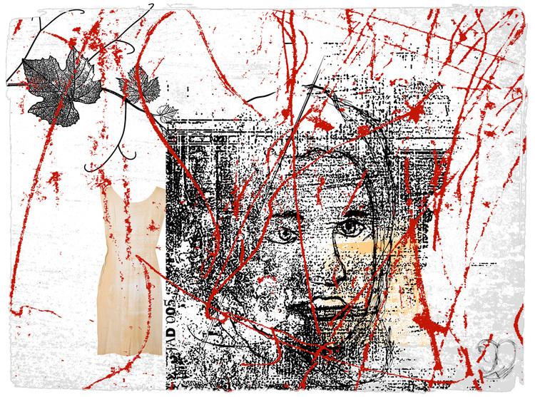 'Faces 1', 2020, ett konstverk av Tibor Jaeger