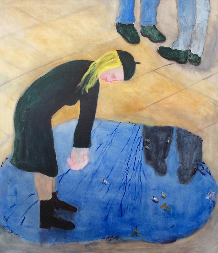 'Wollmar Yxkullsgatan', 2018, ett konstverk av Marie Ericson