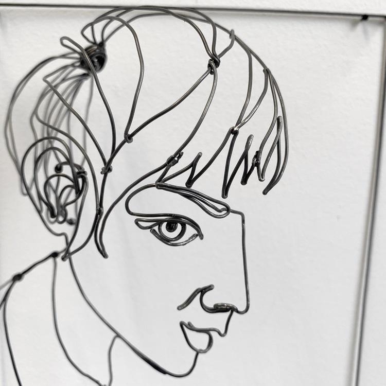 'Person 1', 2019, ett konstverk av Daniel Henningsson