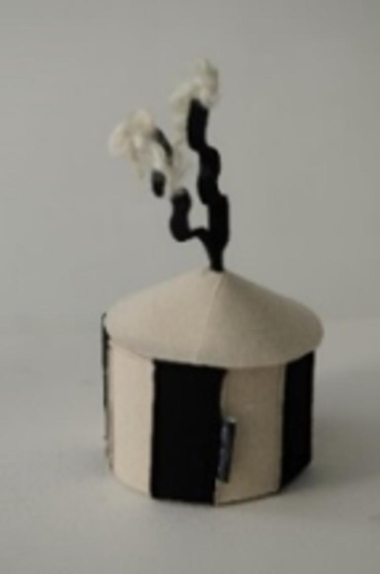 'Skådeskål', 2020, ett konstverk av Lena Karin Grip