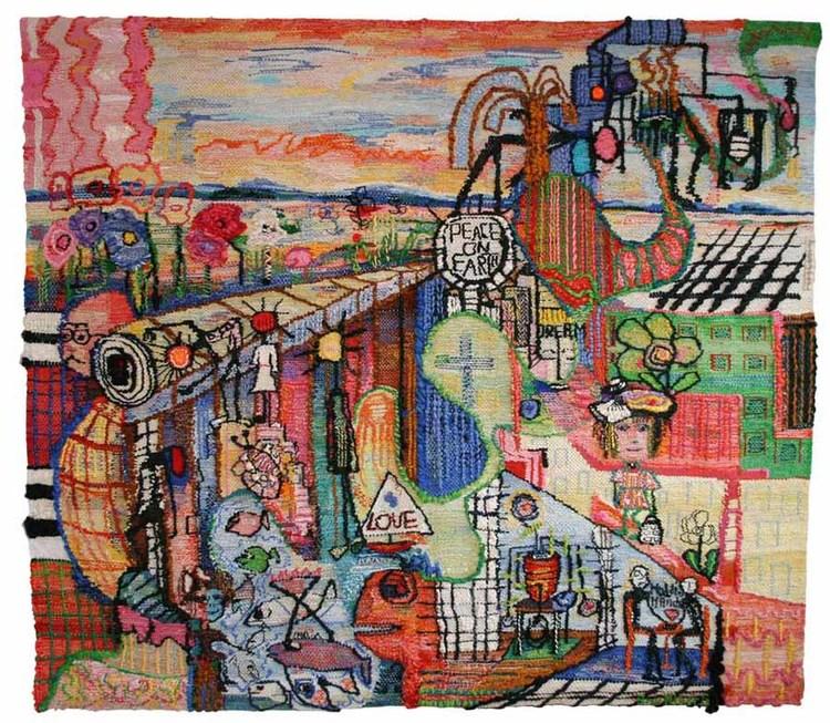 'En dag i livet', 2014, ett konstverk av Ann Nyberg