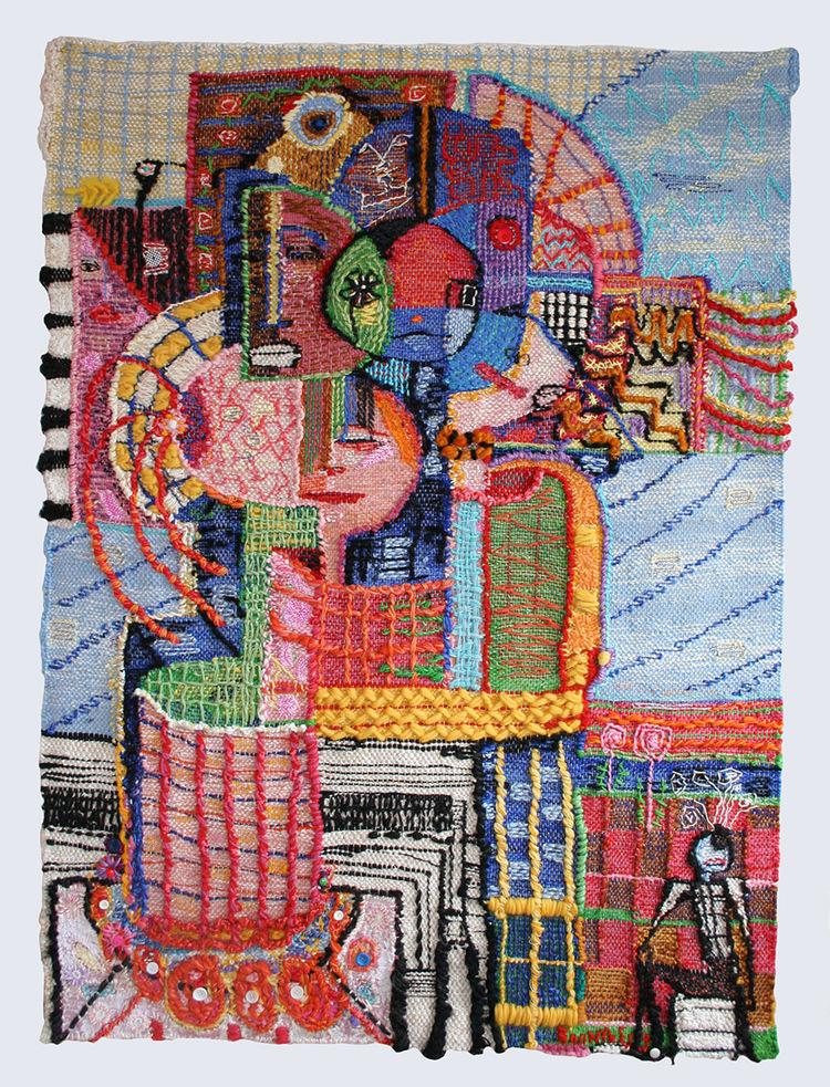 'On illusionary Road', 2020, ett konstverk av Ann Nyberg