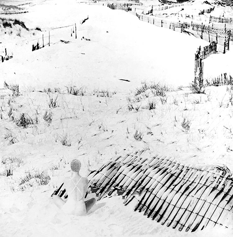 'Stranden II', 2019, ett konstverk av Nina Kerola