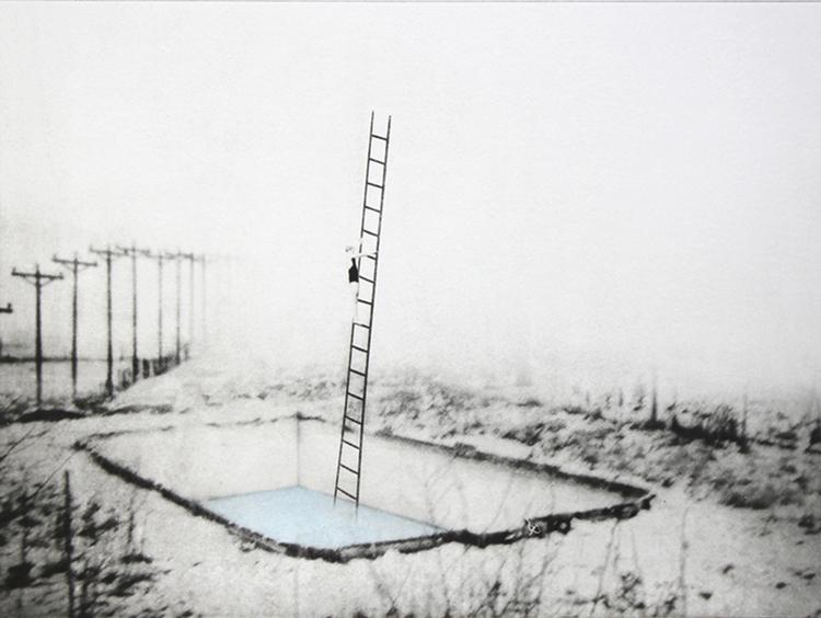 'Poolen', 2019, ett konstverk av Nina Kerola