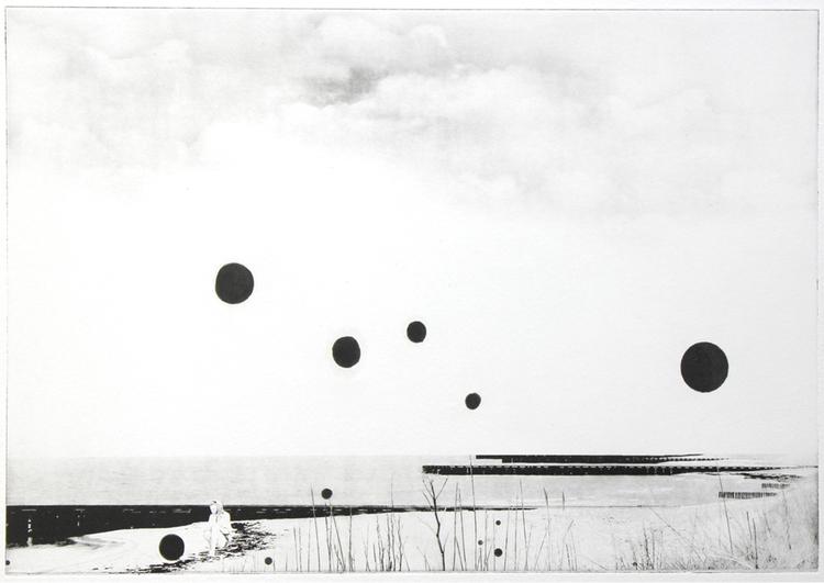 'Någonstans', 2019, ett konstverk av Nina Kerola