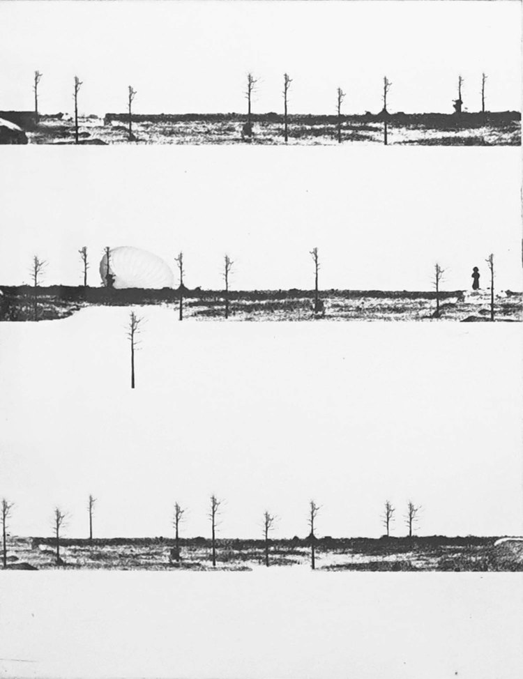 'Olika platser III', 2019, ett konstverk av Nina Kerola
