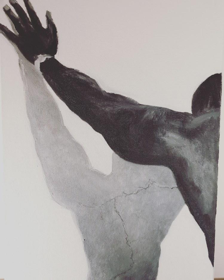 'You say', 2020, ett konstverk av Annamaria Johansson