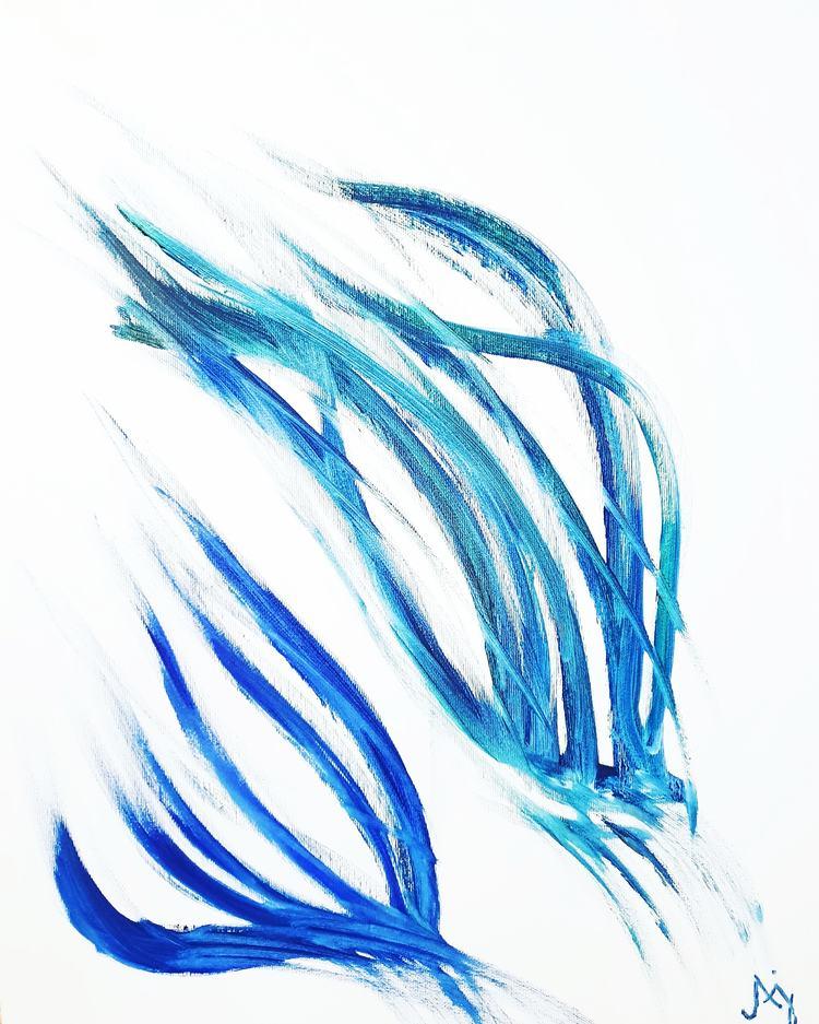 'It must have been the wind', 2020, ett konstverk av Annamaria Johansson