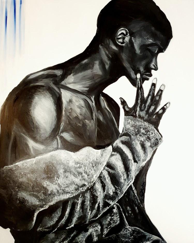 'Deeper satisfaction', 2020, ett konstverk av Annamaria Johansson