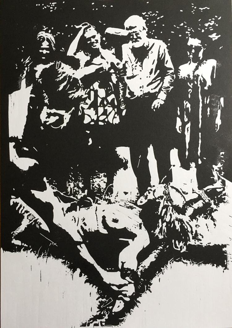 'Själsvärld II', 2018, ett konstverk av Marcus Bagge