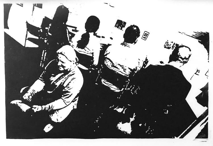 'Krets', 2020, ett konstverk av Marcus Bagge