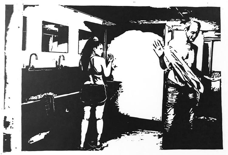 'Limbo', 2020, ett konstverk av Marcus Bagge