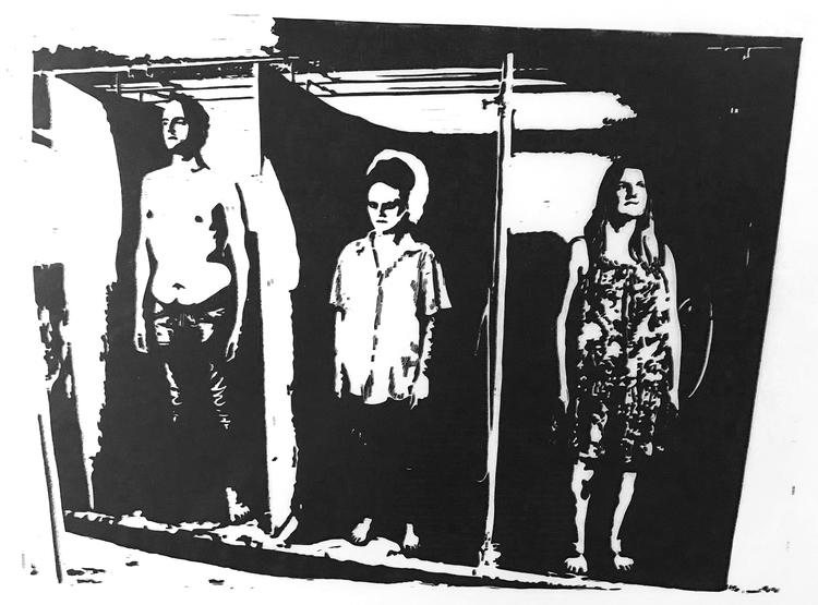 'Stigma', 2020, ett konstverk av Marcus Bagge