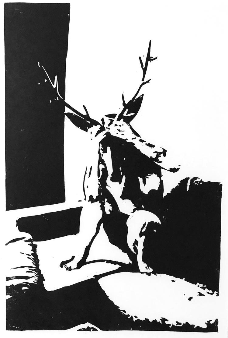 'Poläritet', 2020, ett konstverk av Marcus Bagge