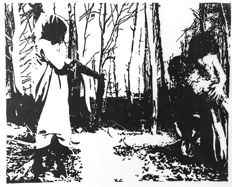 'Ikläda', 2020, ett konstverk av Marcus Bagge