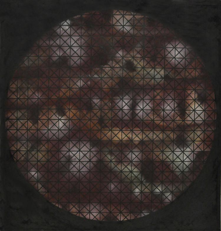 'Circle XXIII (Kaleidoscope)', 2015, ett konstverk av Sofi Lardner Häggström