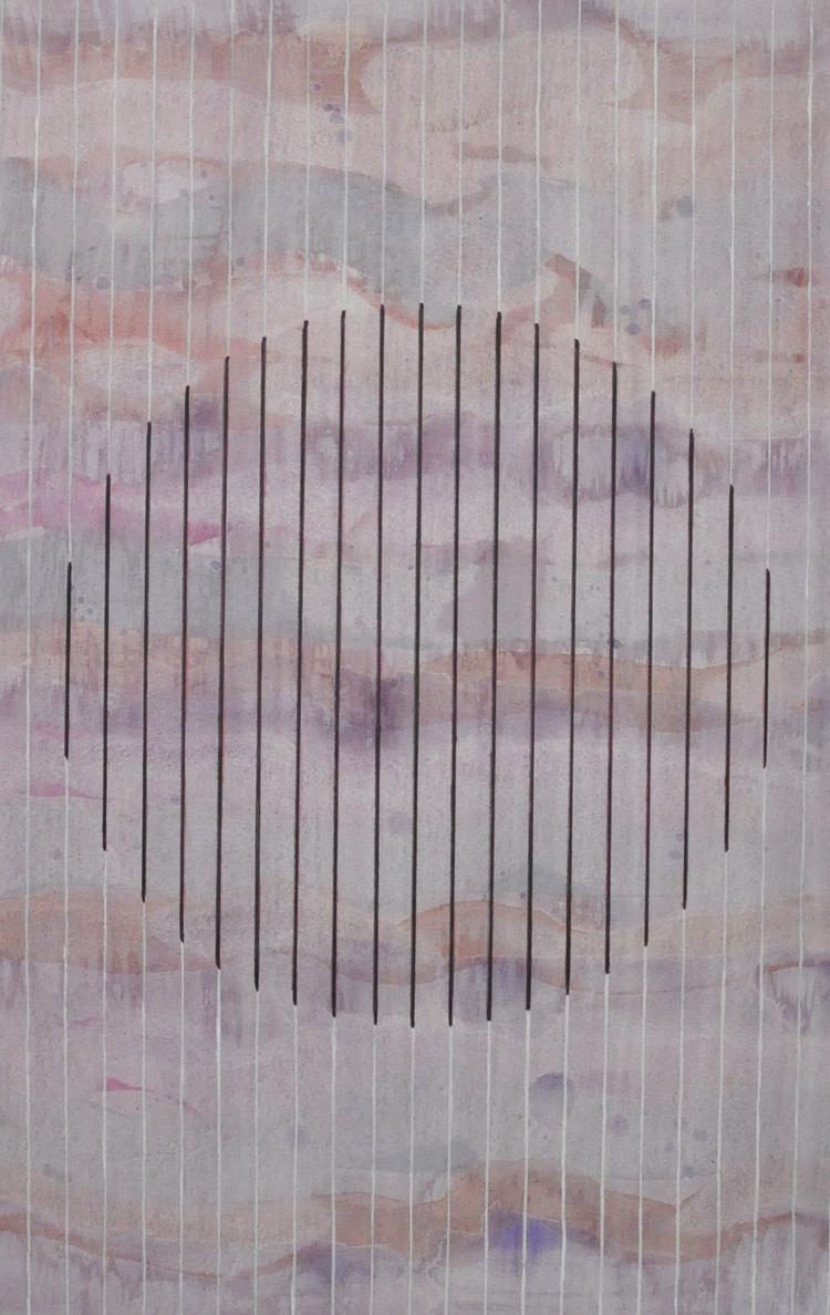 'Circle XXVI', 2015, ett konstverk av Sofi Lardner Häggström