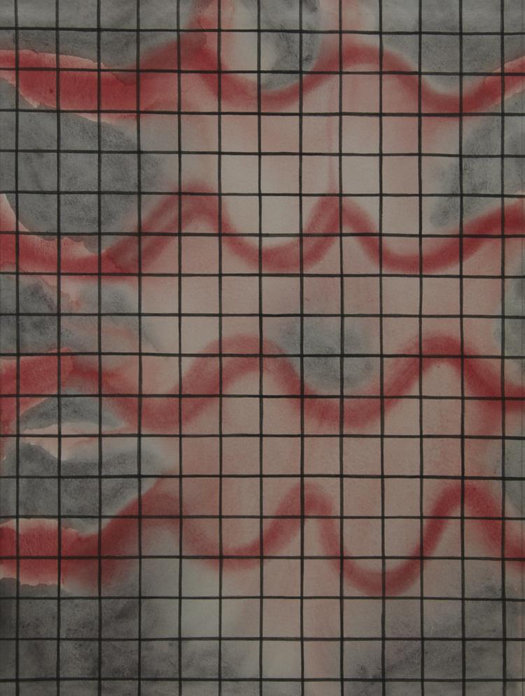 'The Grid VI', 2015, ett konstverk av Sofi Lardner Häggström