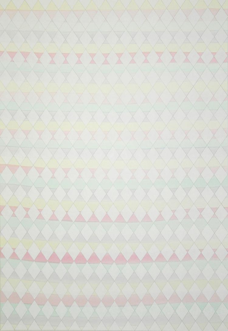 'The Grid II', 2015, ett konstverk av Sofi Lardner Häggström