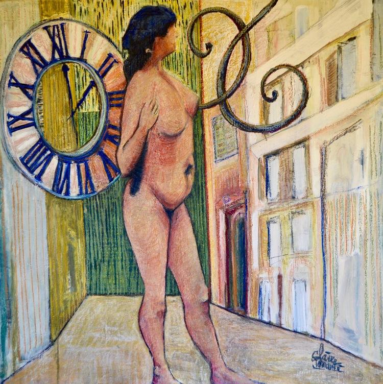 '2 O'Clock ', 2017, ett konstverk av Claire Denarie-Soffietti