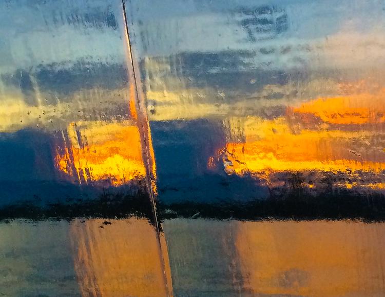 'Light of early dawn', 2014, ett konstverk av Robert Ekegren