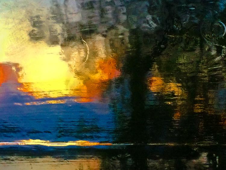 'Tomorrow's sunset', 2014, ett konstverk av Robert Ekegren