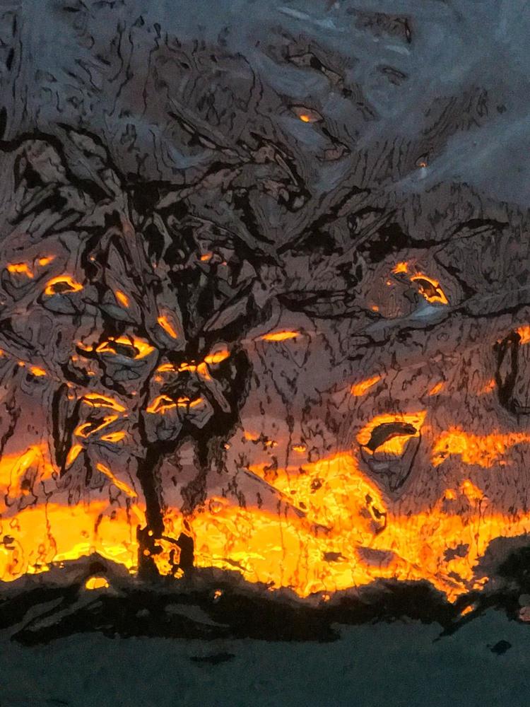 'Dragon guardian', 2019, ett konstverk av Robert Ekegren