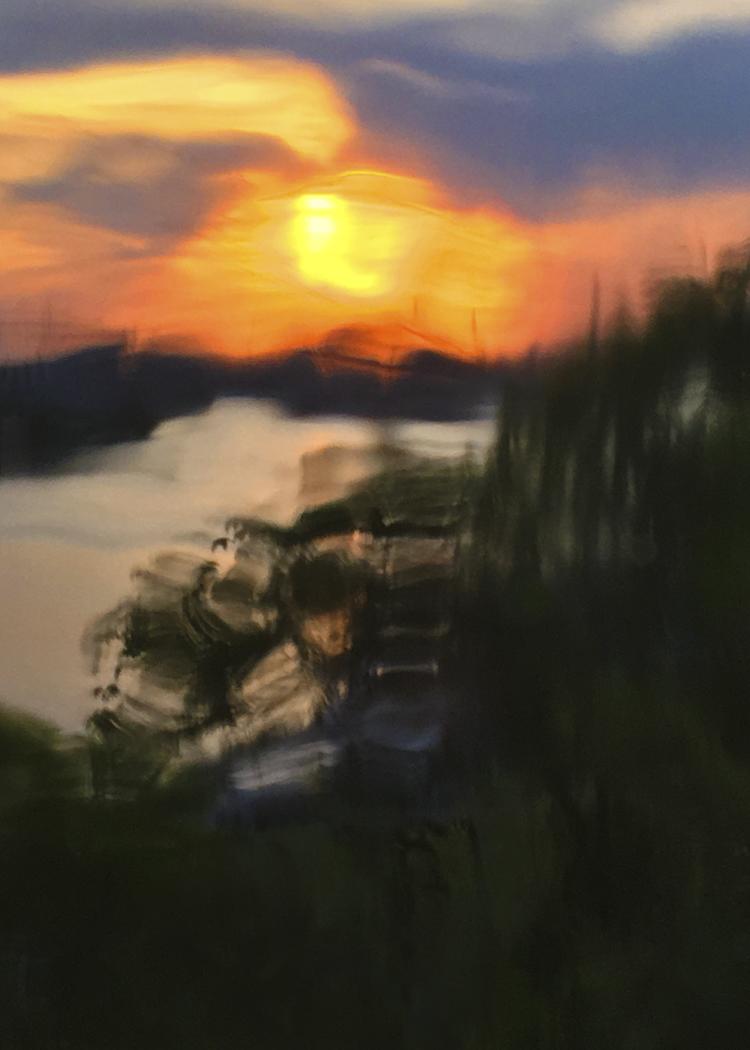 'Inlet to Stockholm, Sweden', 2020, ett konstverk av Robert Ekegren