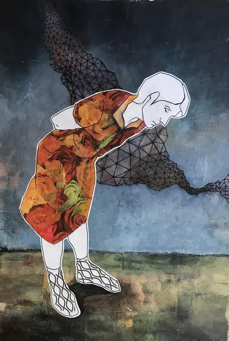 'Everyday She Weares a Different dress', 2019, ett konstverk av Victoria Engholm