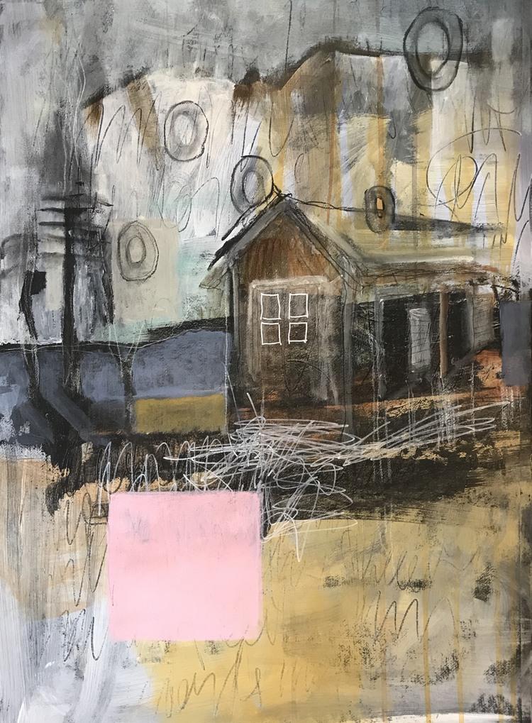 'Dreamin' Pink', 2019, ett konstverk av Victoria Engholm