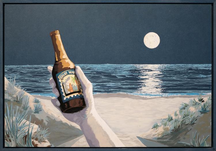 'Dillon Beach', 19, ett konstverk av Samuel Sander