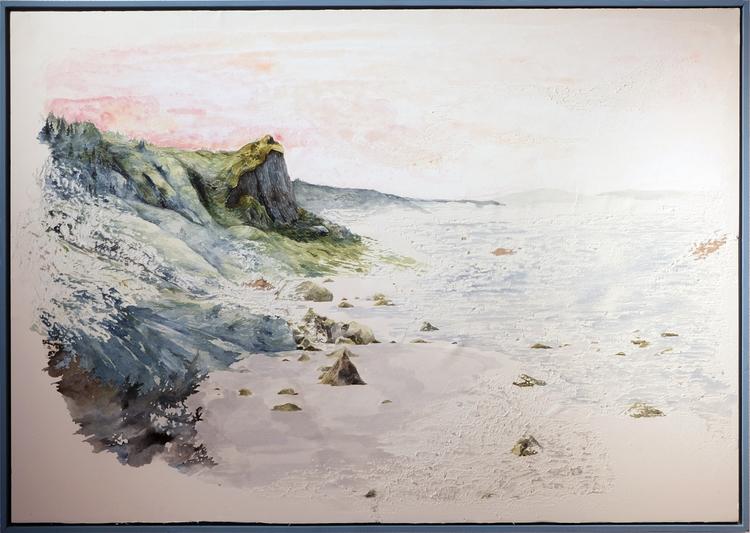 'North West Coast, faded memory01', 2019, ett konstverk av Samuel Sander