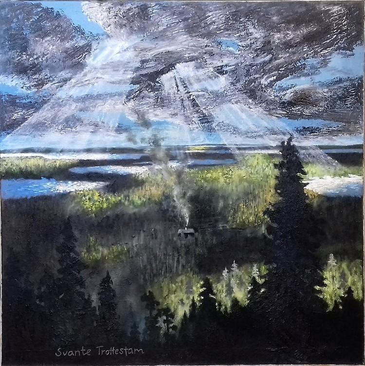 'Långt bort', 2019, ett konstverk av Svante Trottestam