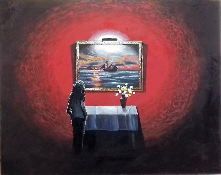 'Beskådan', 2019, ett konstverk av Svante Trottestam