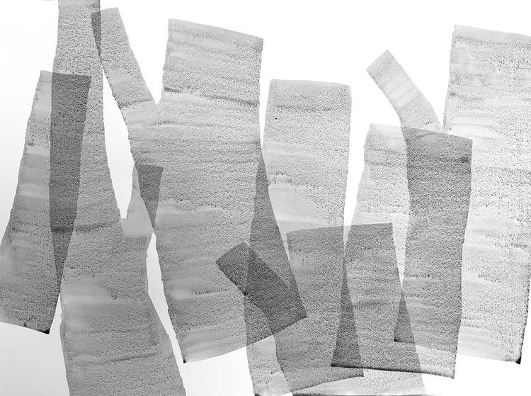 "'""and that's why a tree will continue to be""', 2019, ett konstverk av Irina Lindqvist"