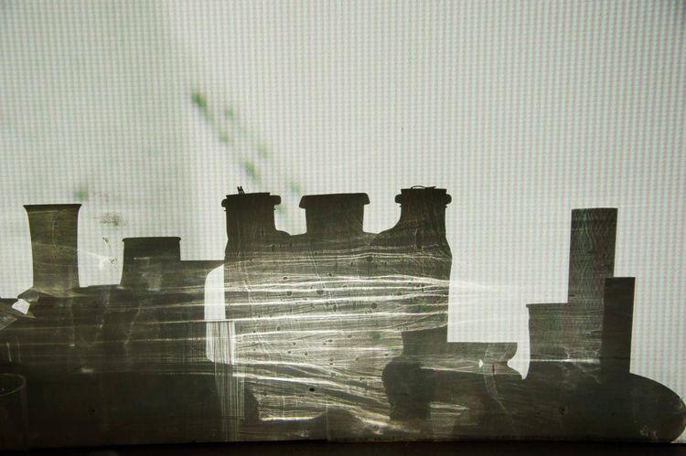 'Evening shadows', 2015, ett konstverk av Irina Lindqvist