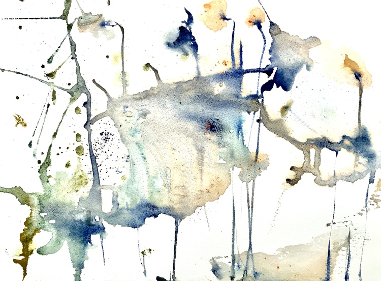 'Wild flower', 2019, ett konstverk av Irina Lindqvist