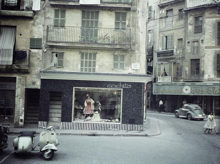 'Plaza de Coll', 1959, ett konstverk av Staffan Wettre