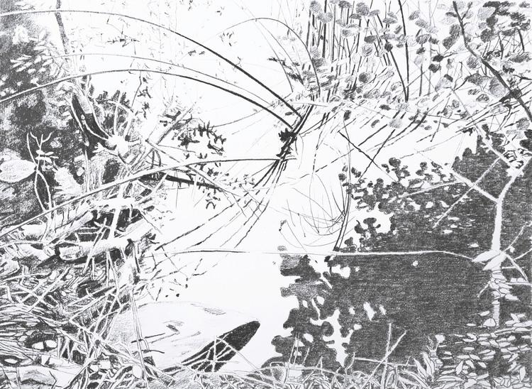 'Spegling nr 3', 2018, ett konstverk av Annika Lindfors