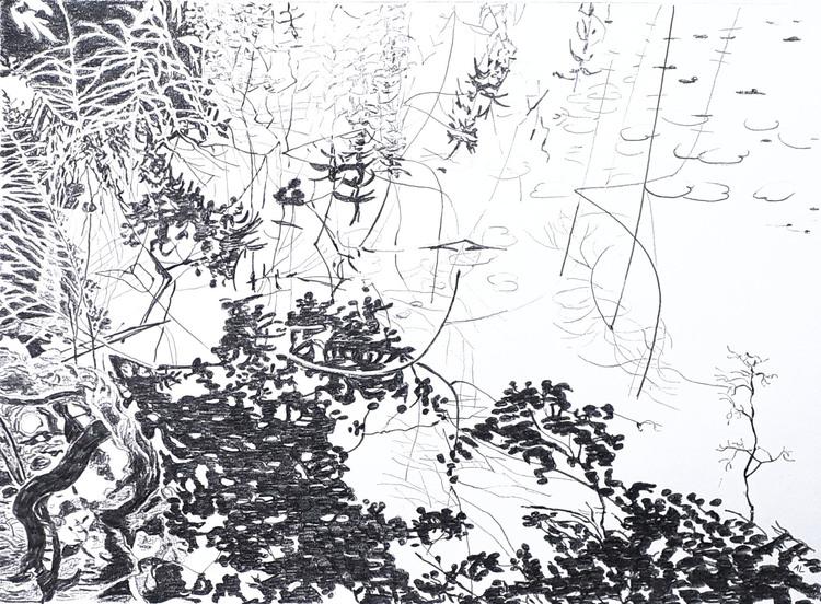 'Spegling nr 2', 2018, ett konstverk av Annika Lindfors