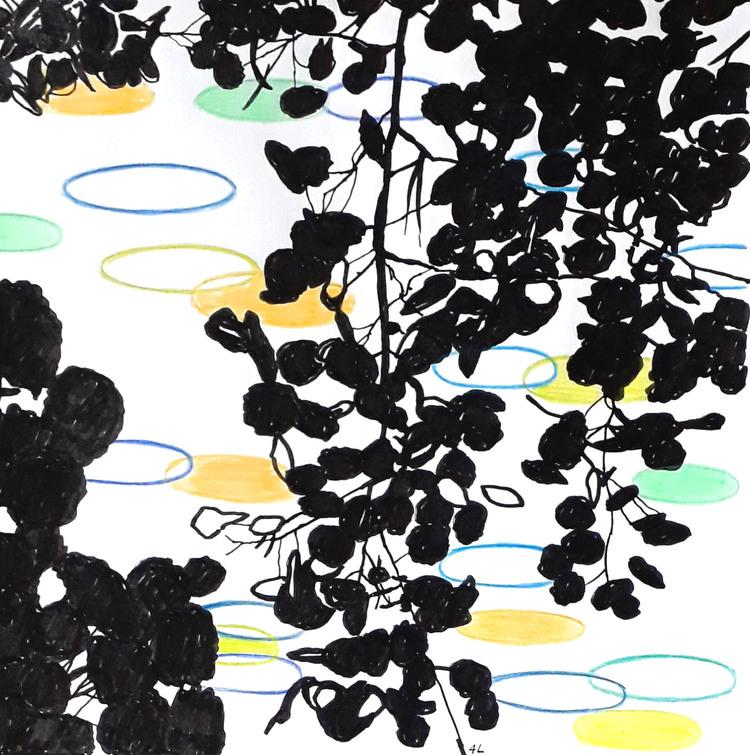 'I grenverket (1)', 2019, ett konstverk av Annika Lindfors