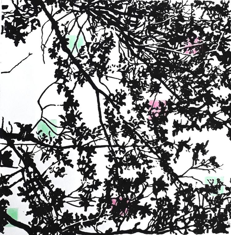 'I grenverket (3)', 2019, ett konstverk av Annika Lindfors