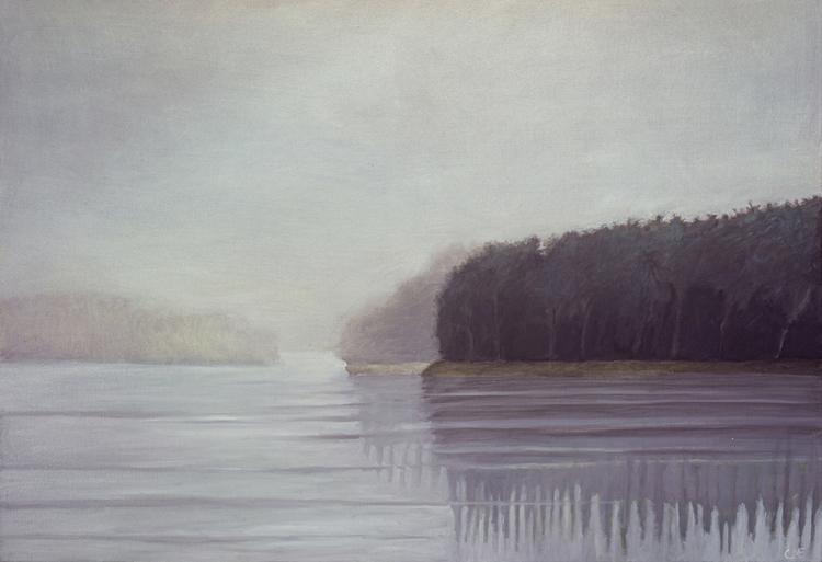 'Frost', 2019, ett konstverk av Carina Moberg Eyre
