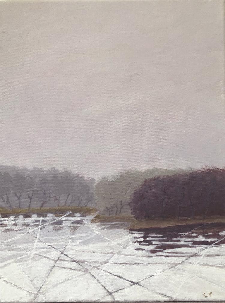'Liten frost 1', 2019, ett konstverk av Carina Moberg Eyre
