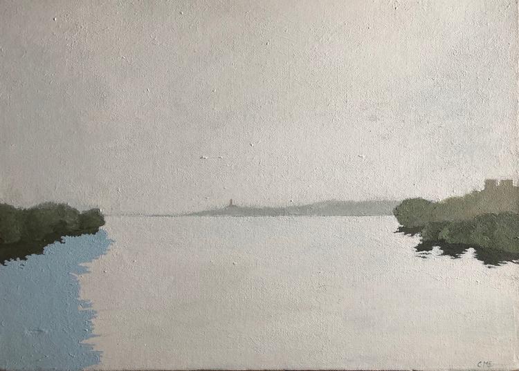 'Lilla Essingen', 2019, ett konstverk av Carina Moberg Eyre