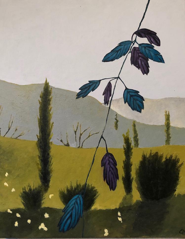 'Provence 1', 2019, ett konstverk av Carina Moberg Eyre