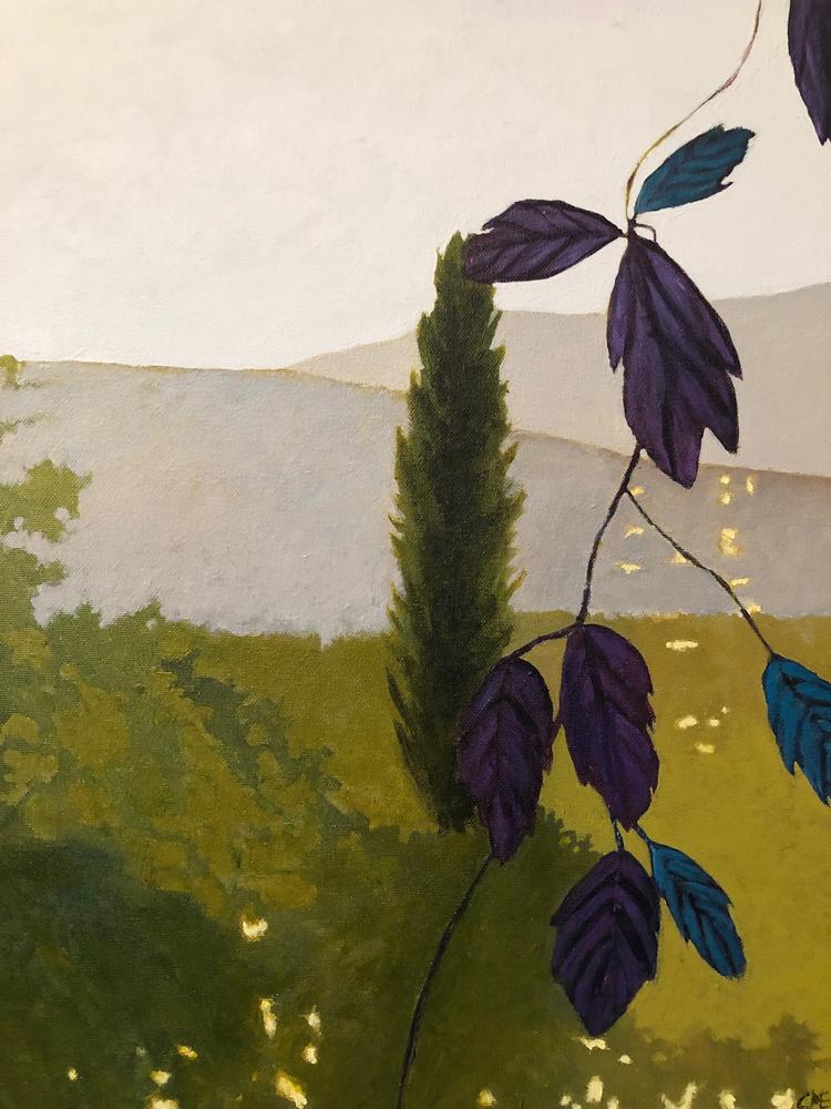 'Provence 2', 2019, ett konstverk av Carina Moberg Eyre