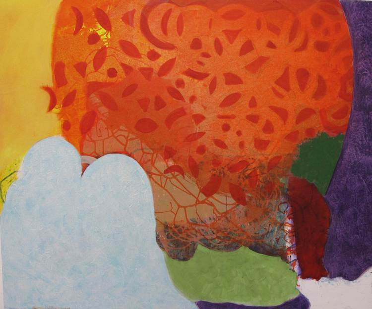 'Moonshine', 2020, ett konstverk av Christina Hedlund