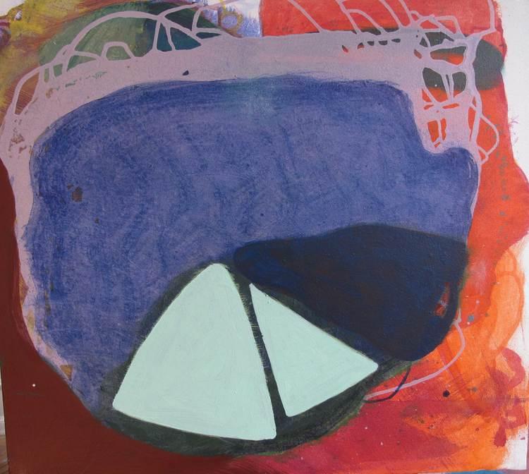 'Strängteori', 2020, ett konstverk av Christina Hedlund