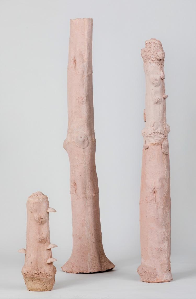 'Du I-III', 2019, ett konstverk av Marie Holmgren